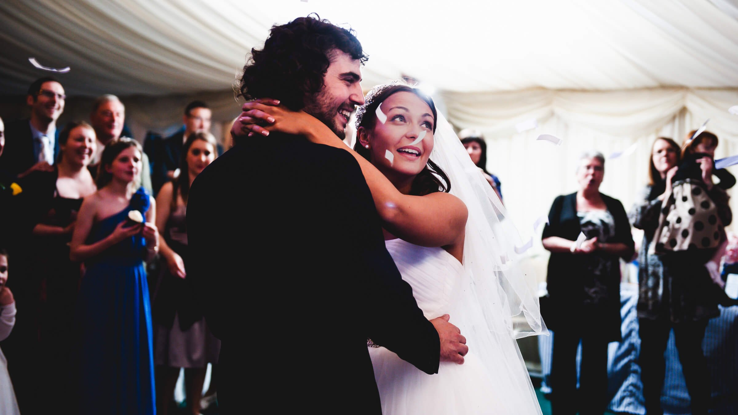 John Higgitt Photography bride and groom first dance